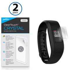 ClearTouch Crystal (2-Pack) - Garmin Vivofit Jr 2 Screen Protector