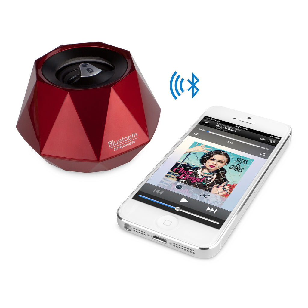 GemBeats Bluetooth Speaker - AT&T Samsung Galaxy S2 (Samsung SGH-i777) Audio and Music