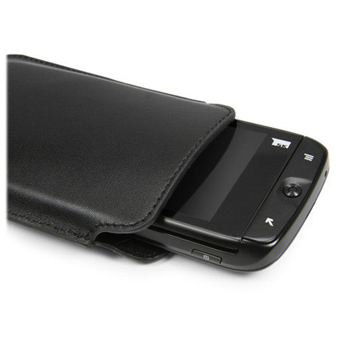 Genuine Leather Pouch - Apple iPhone 4 Case