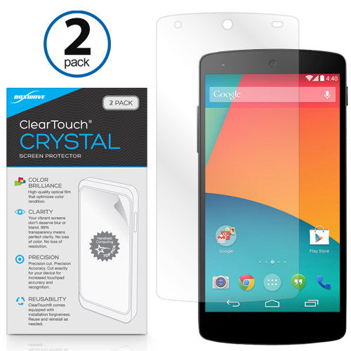ClearTouch Crystal (2-Pack) - Google Nexus 5 Screen Protector