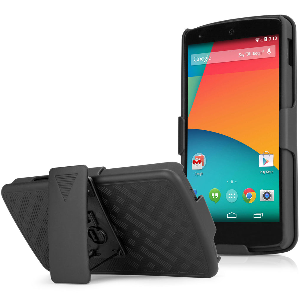 Dual+ Holster Case - Google Nexus 5 Holster