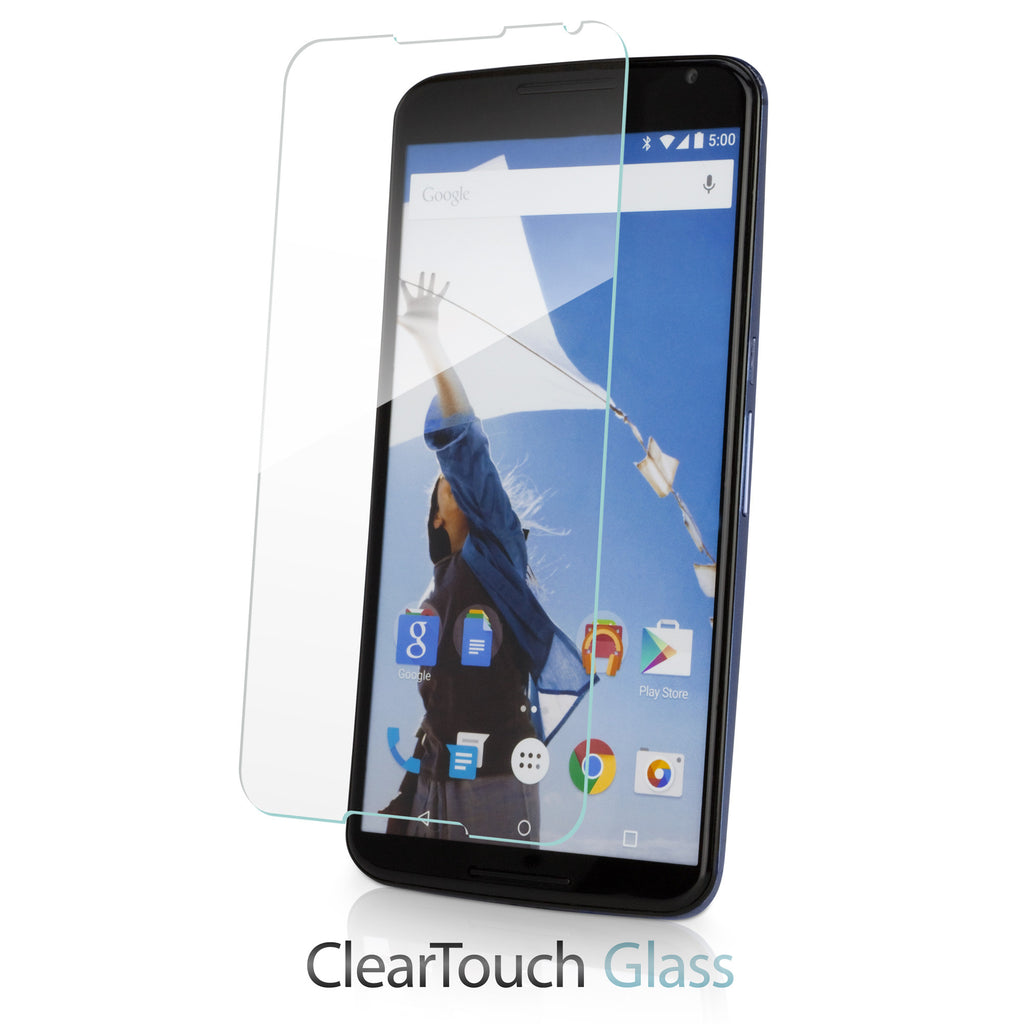 ClearTouch Glass - Google Nexus 6 Screen Protector
