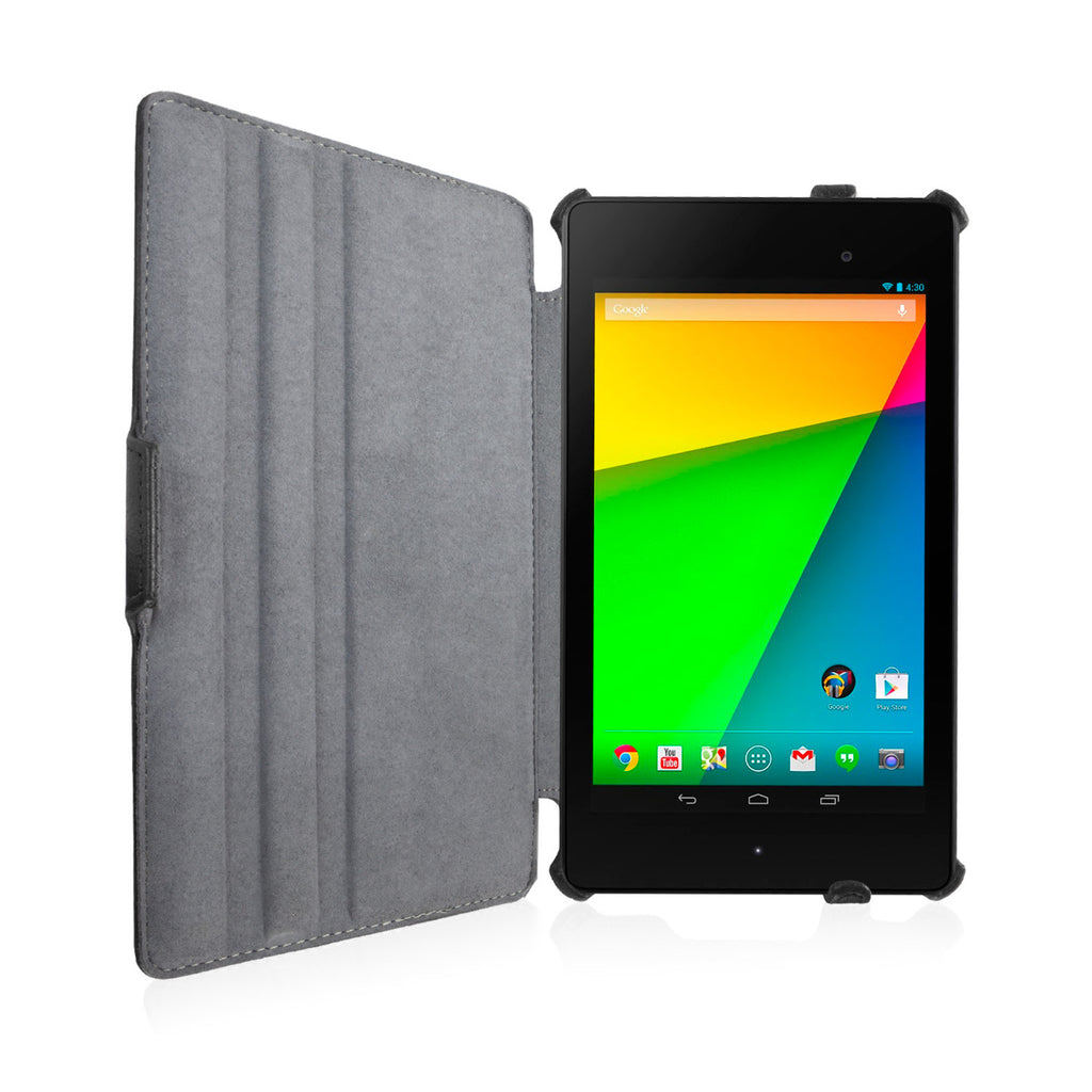 Leather Book Jacket - Google Nexus 7 (2nd Gen/2013) Case