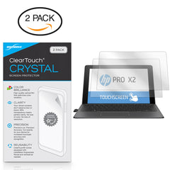 ClearTouch Crystal (2-Pack) - HP Pro x2 612 G2 Tablet Screen Protector