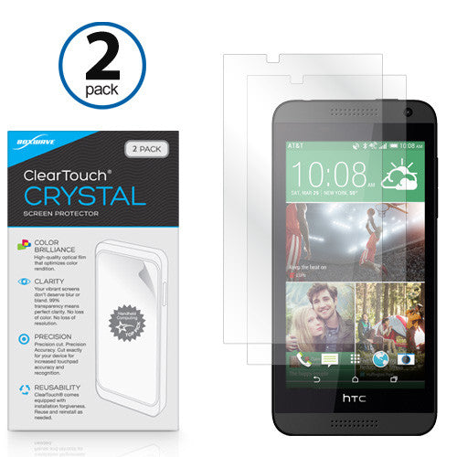ClearTouch Crystal (2-Pack) - HTC Desire 610 Screen Protector