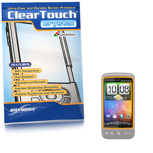 ClearTouch Crystal - HTC Desire Screen Protector