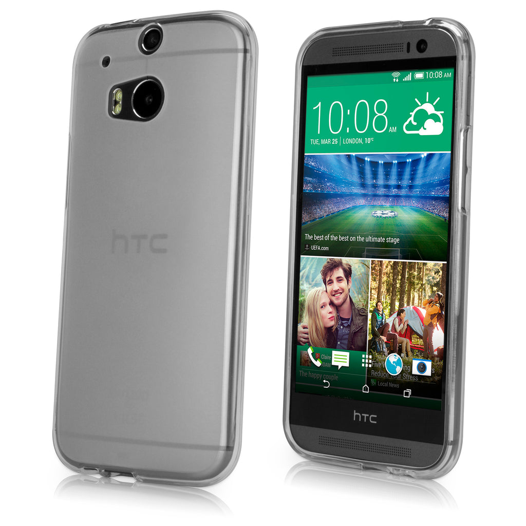 Arctic Frost Crystal Slip - HTC One (M8 2014) Case