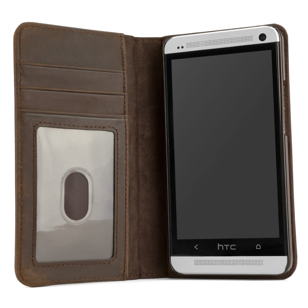 Classic Book Case - HTC One (M7 2013) Case