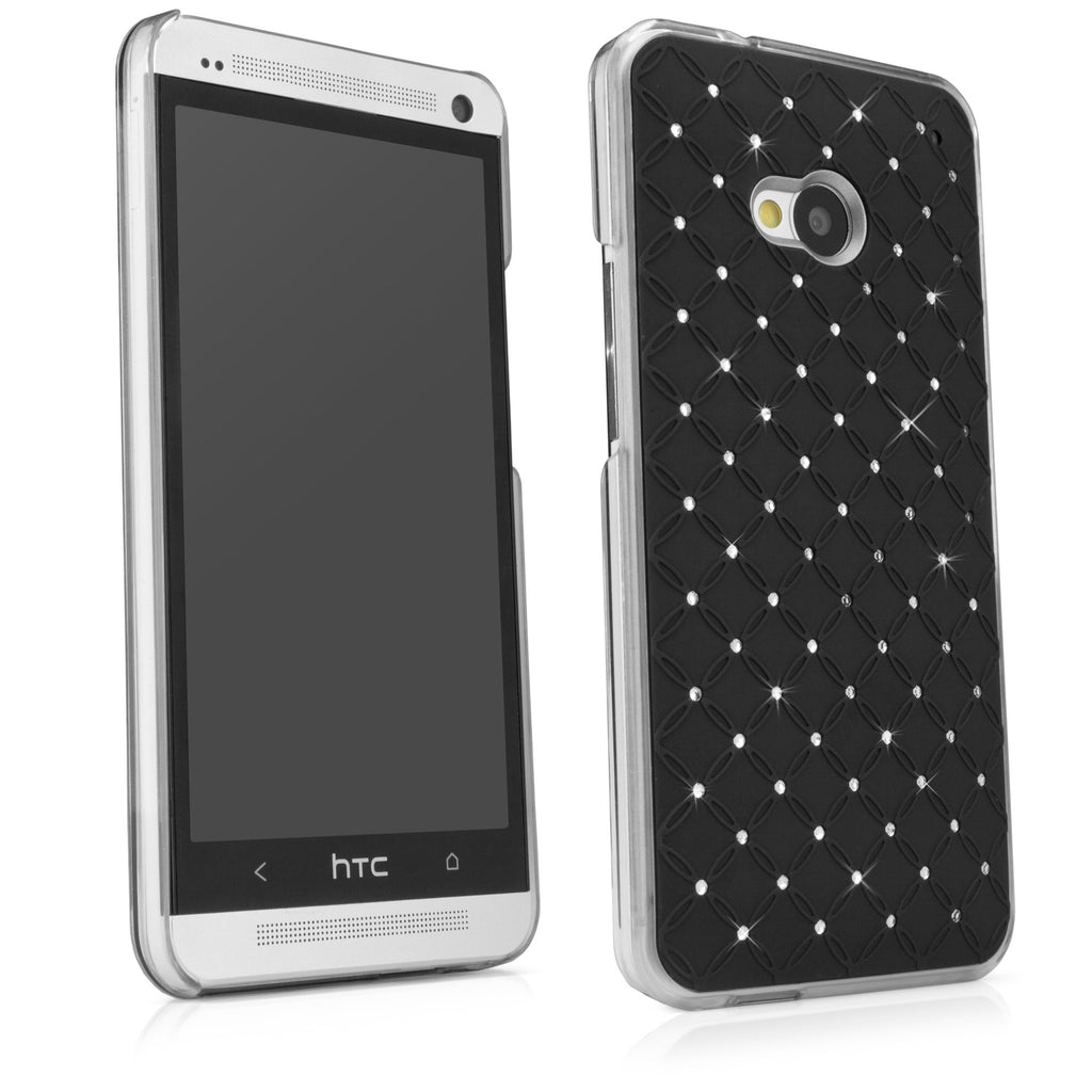 Diamond Rivet HTC One (M7 2013) Case