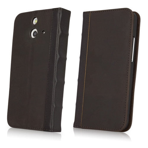 Classic Book Case - HTC One (E8) Case