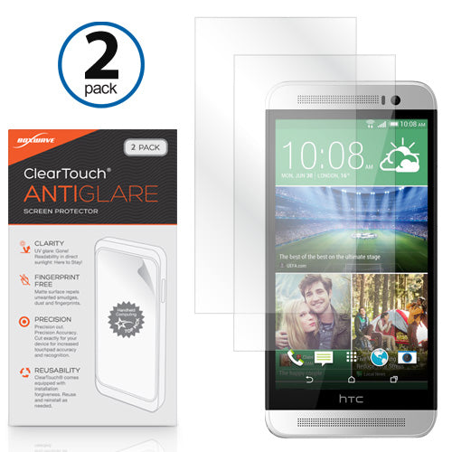 ClearTouch Anti-Glare (2-Pack) - HTC One (E8) Screen Protector