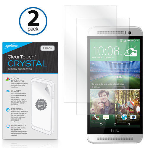 ClearTouch Crystal (2-Pack) - HTC One (E8) Screen Protector