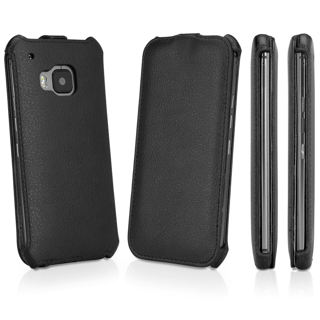 Leather Flip HTC One (M9 2015) Case