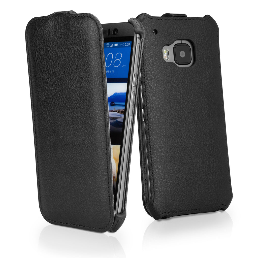Leather Flip Case - HTC One (M9 2015) Case