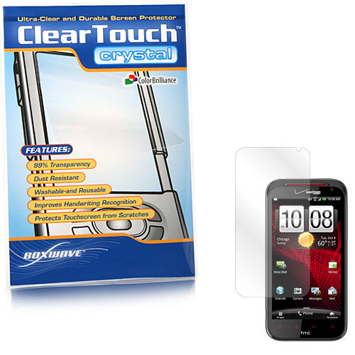 ClearTouch Crystal - HTC Rezound Screen Protector