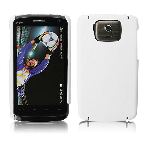 Slim Rubberized Half Shell - HTC Touch HD Case