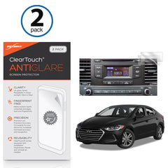 Hyundai 2017 Elantra (7 in) ClearTouch Anti-Glare (2-Pack)