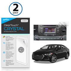 Hyundai 2017 Elantra (7 in) ClearTouch Crystal (2-Pack)