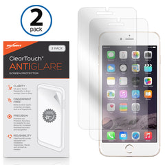 ClearTouch Anti-Glare (2-Pack) - Apple iPhone 8 Screen Protector