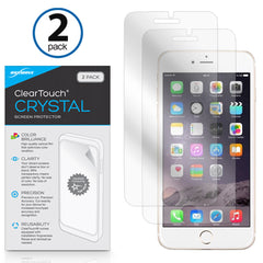 ClearTouch Crystal (2-Pack) - Apple iPhone 8 Screen Protector