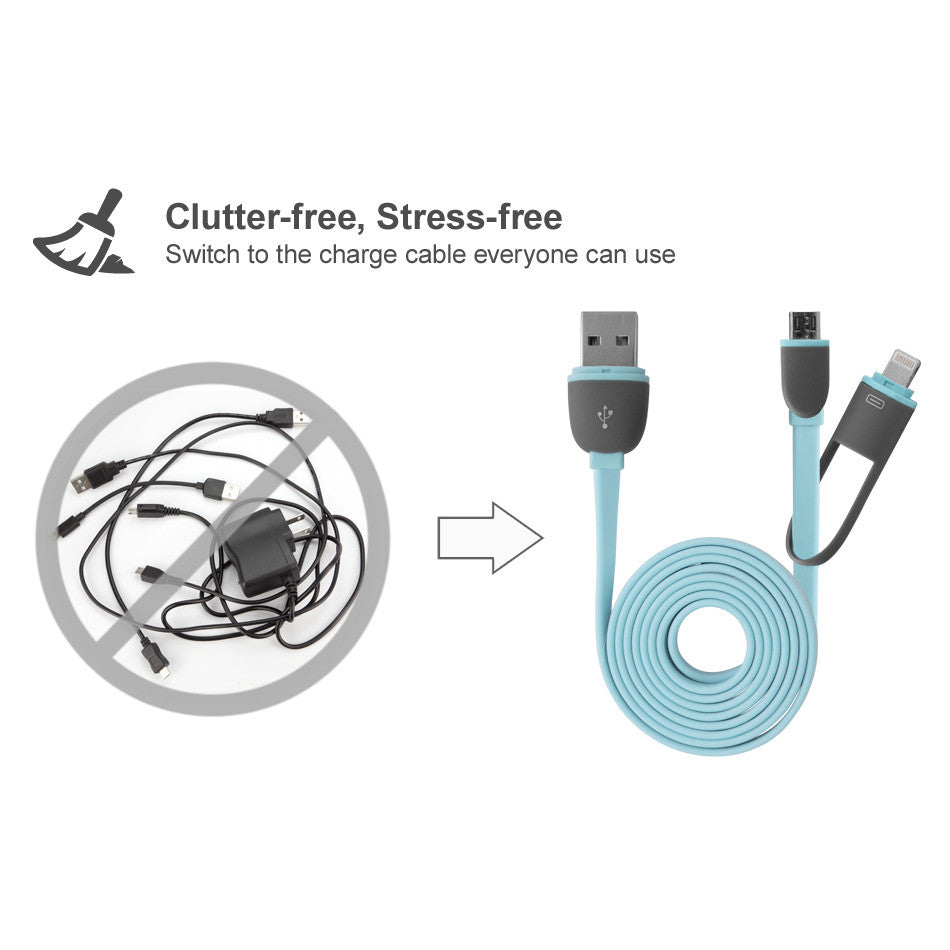 iDroid 2-in-1 Cable - Motorola Photon 4G Cable