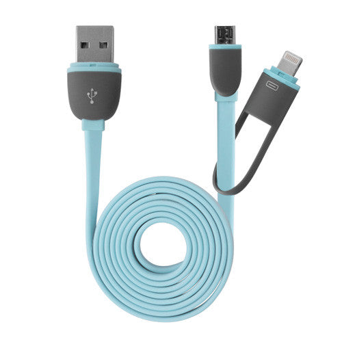 iDroid 2-in-1 Cable - Apple iPad mini with Retina display (2nd Gen/2013) Cable