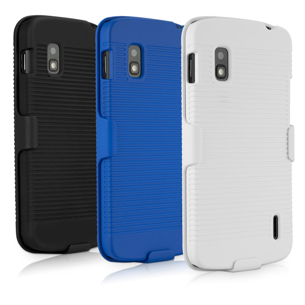 Dual+ Holster Case - LG Nexus 4 Holster