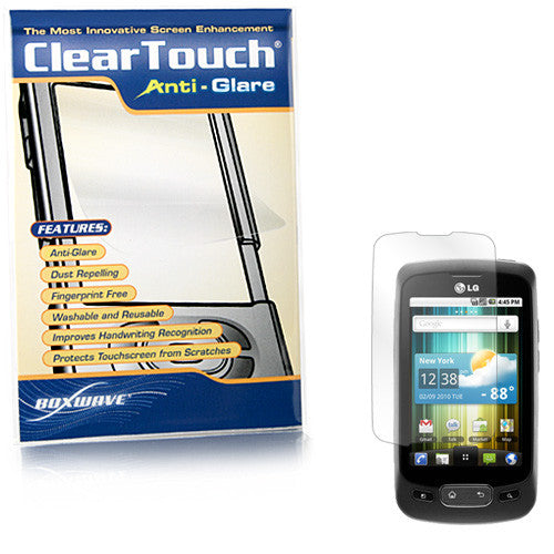 ClearTouch Anti-Glare - LG Optimus One P500 Screen Protector