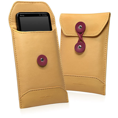Manila Leather Envelope - HTC HD2 (EU and Asia Pacific version) Case