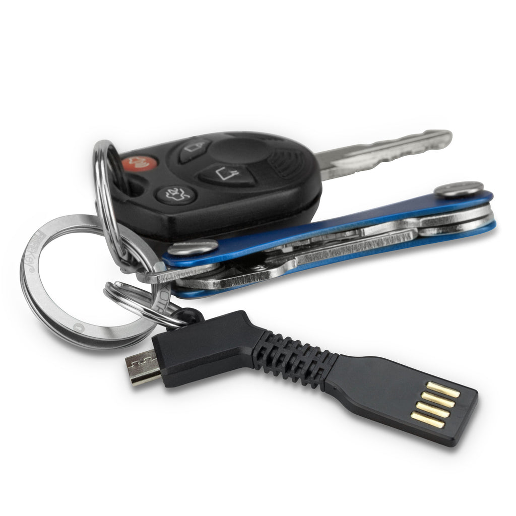 Micro USB Keychain Charger - Motorola ATRIX 2 Cable