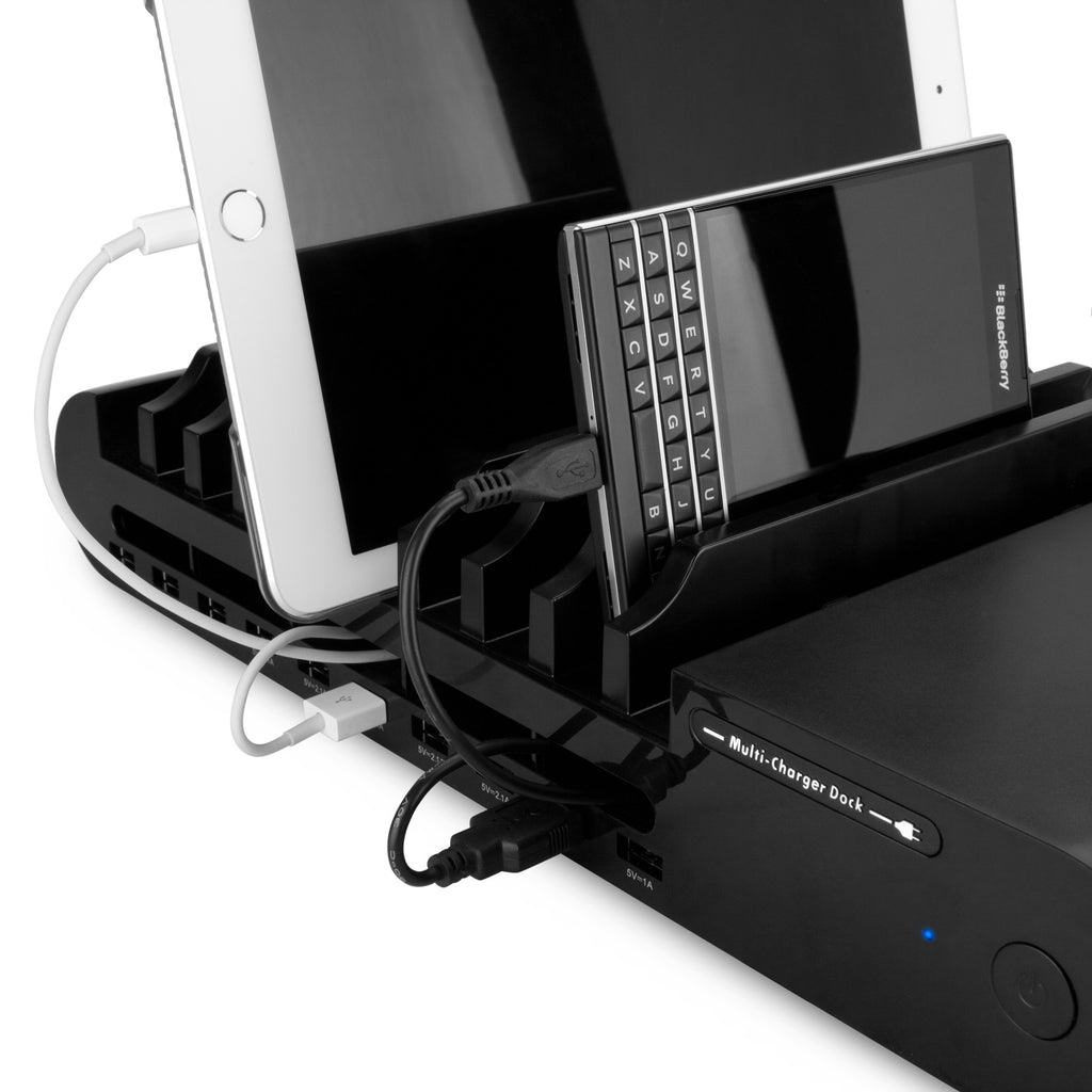 MultiCharge Dock - 10-Port - Blackberry Curve 8300 Charger