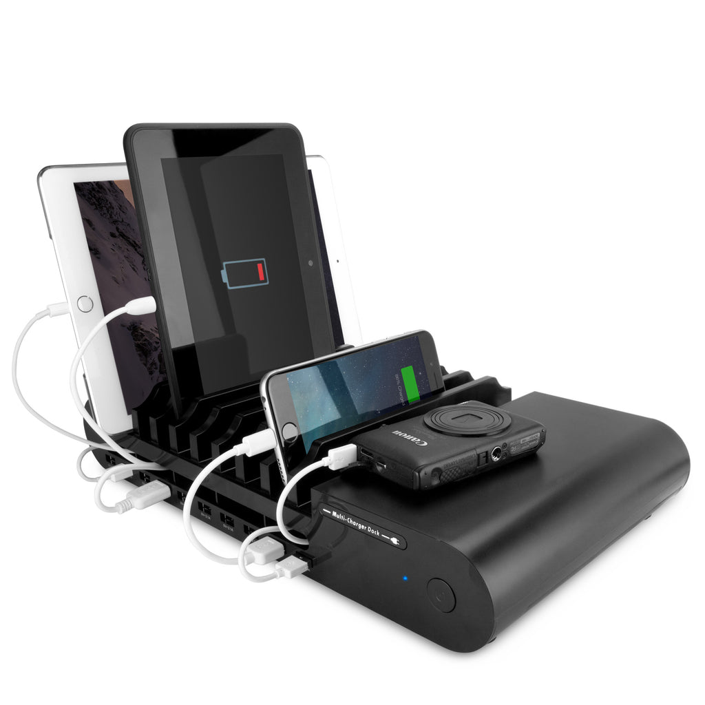 MultiCharge Dock - 10-Port - HTC HD7 Charger