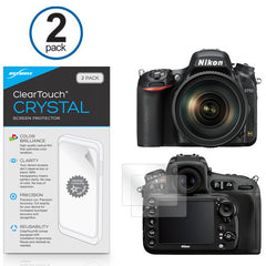 ClearTouch Crystal (2-Pack) - Nikon D750 Screen Protector