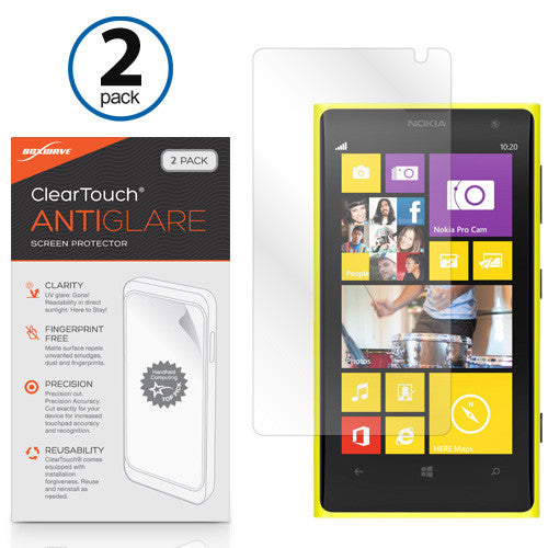 ClearTouch Anti-Glare (2-Pack) - Nokia Lumia 1020 Screen Protector