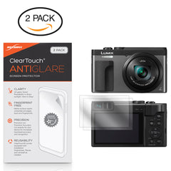 ClearTouch Anti-Glare (2-Pack) - Panasonic Lumix DC-ZS70 Screen Protector