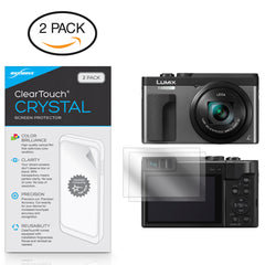 ClearTouch Crystal (2-Pack) - Panasonic Lumix DC-ZS70 Screen Protector