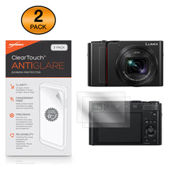 ClearTouch Anti-Glare (2-Pack) - Panasonic Lumix DC-ZS200 Screen Protector