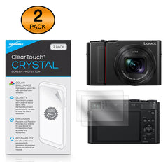 ClearTouch Crystal (2-Pack) - Panasonic Lumix DC-ZS200 Screen Protector