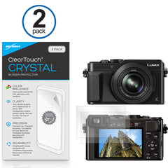 ClearTouch Crystal (2-Pack) - Panasonic Lumix DMC-ZS50 Screen Protector