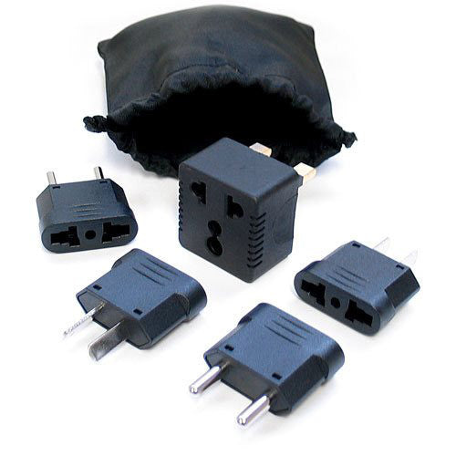 International Outlet Plug Adapter Kit