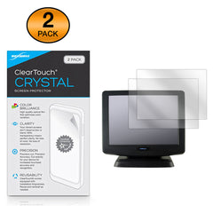 ClearTouch Crystal (2-Pack) - Posiflex KS7215 Screen Protector