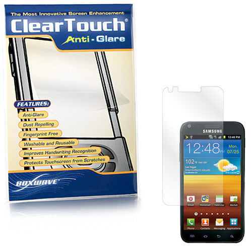 ClearTouch Anti-Glare - Samsung Galaxy S2, Epic 4G Touch Screen Protector