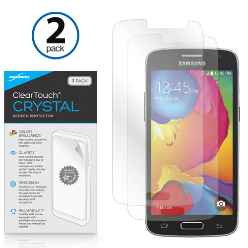 ClearTouch Crystal (2-Pack) - Samsung Galaxy Avant Screen Protector