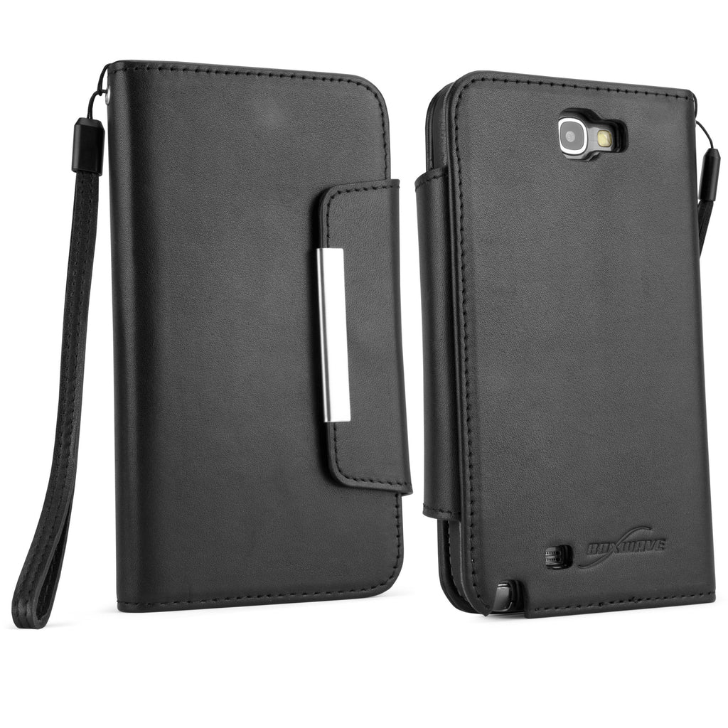 Designio Leather Clutch Case - Samsung Galaxy Note 2 Case