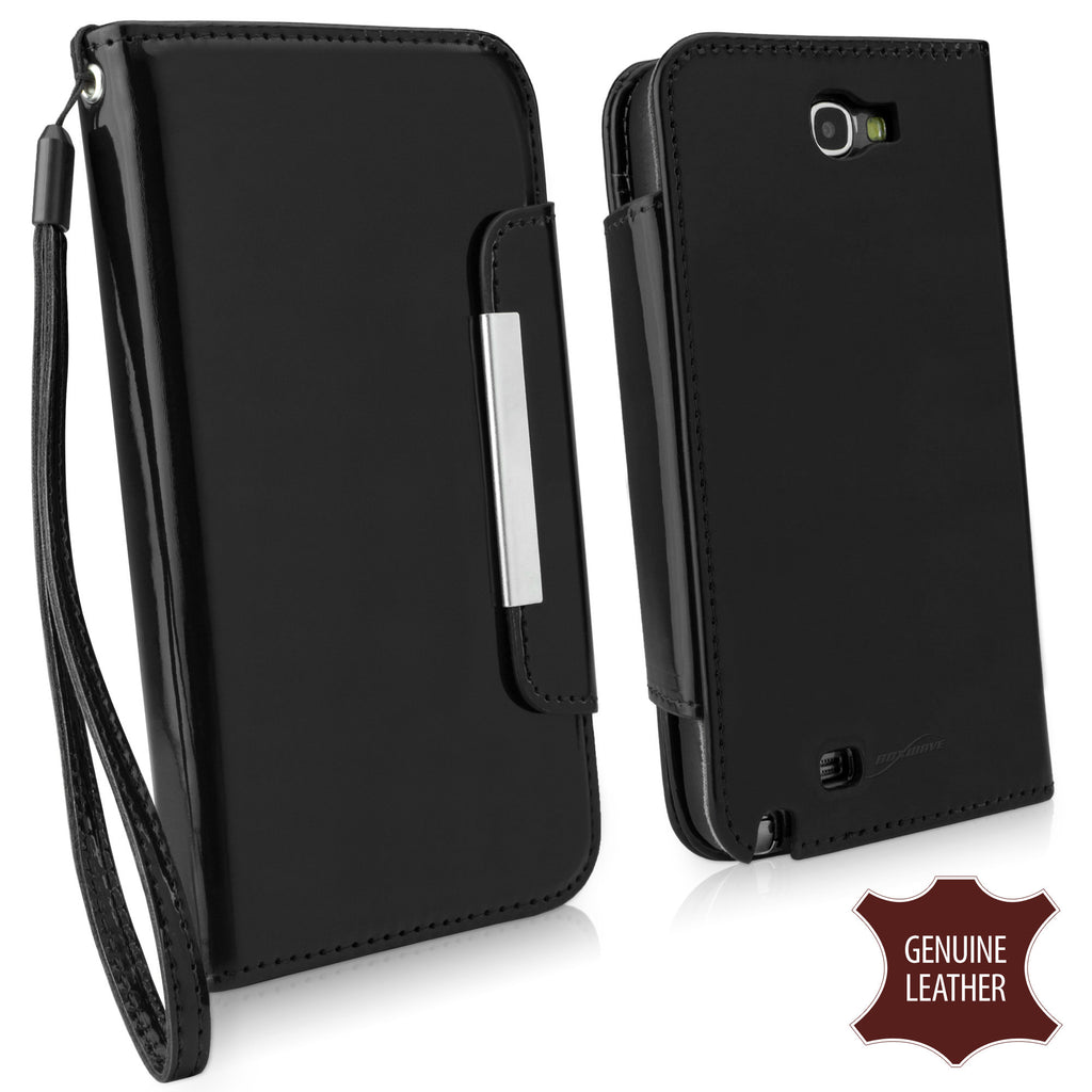 Designio Patent Leather Clutch Case - Samsung Galaxy Note 2 Case