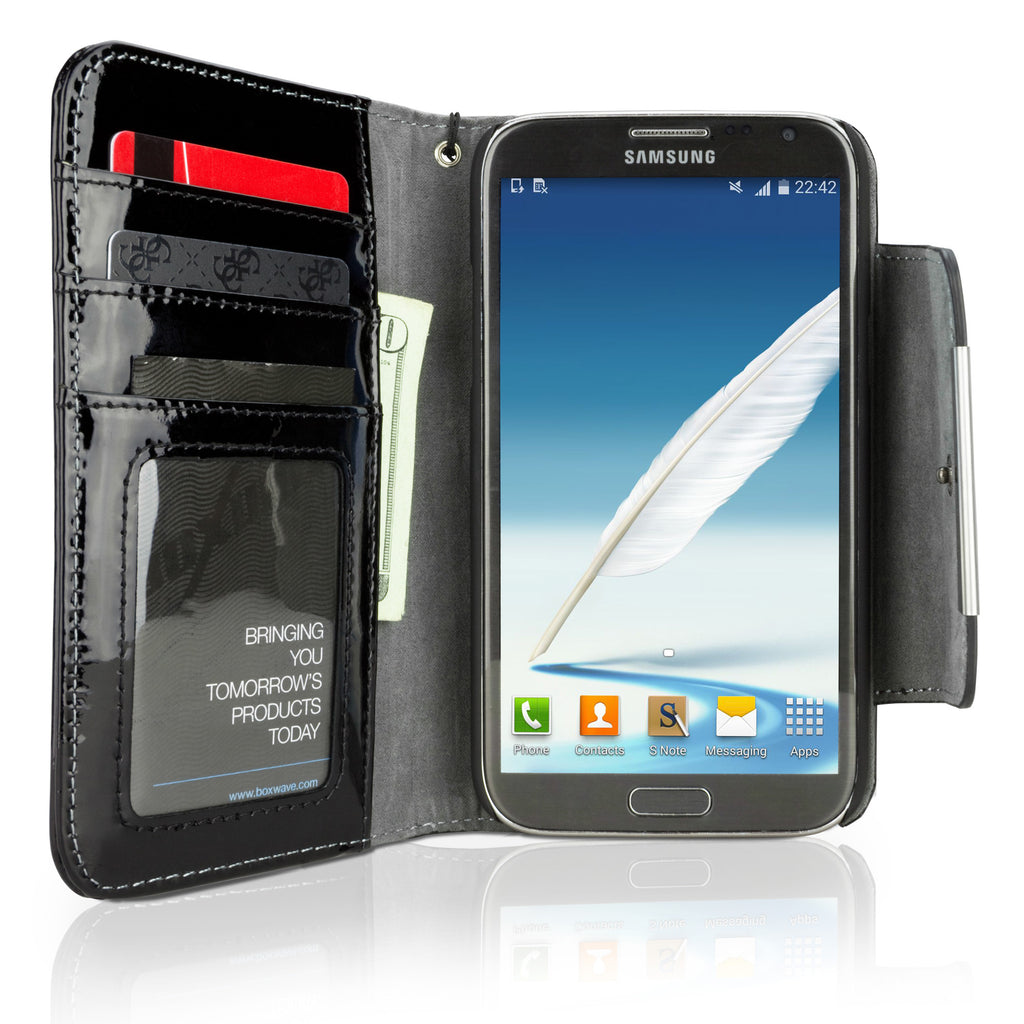 Designio Galaxy Note 2 Patent Leather Clutch Case
