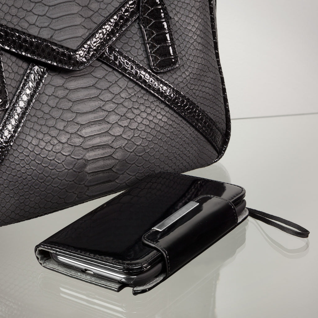 Patent Leather Clutch Case - Samsung Galaxy Note 2 Case