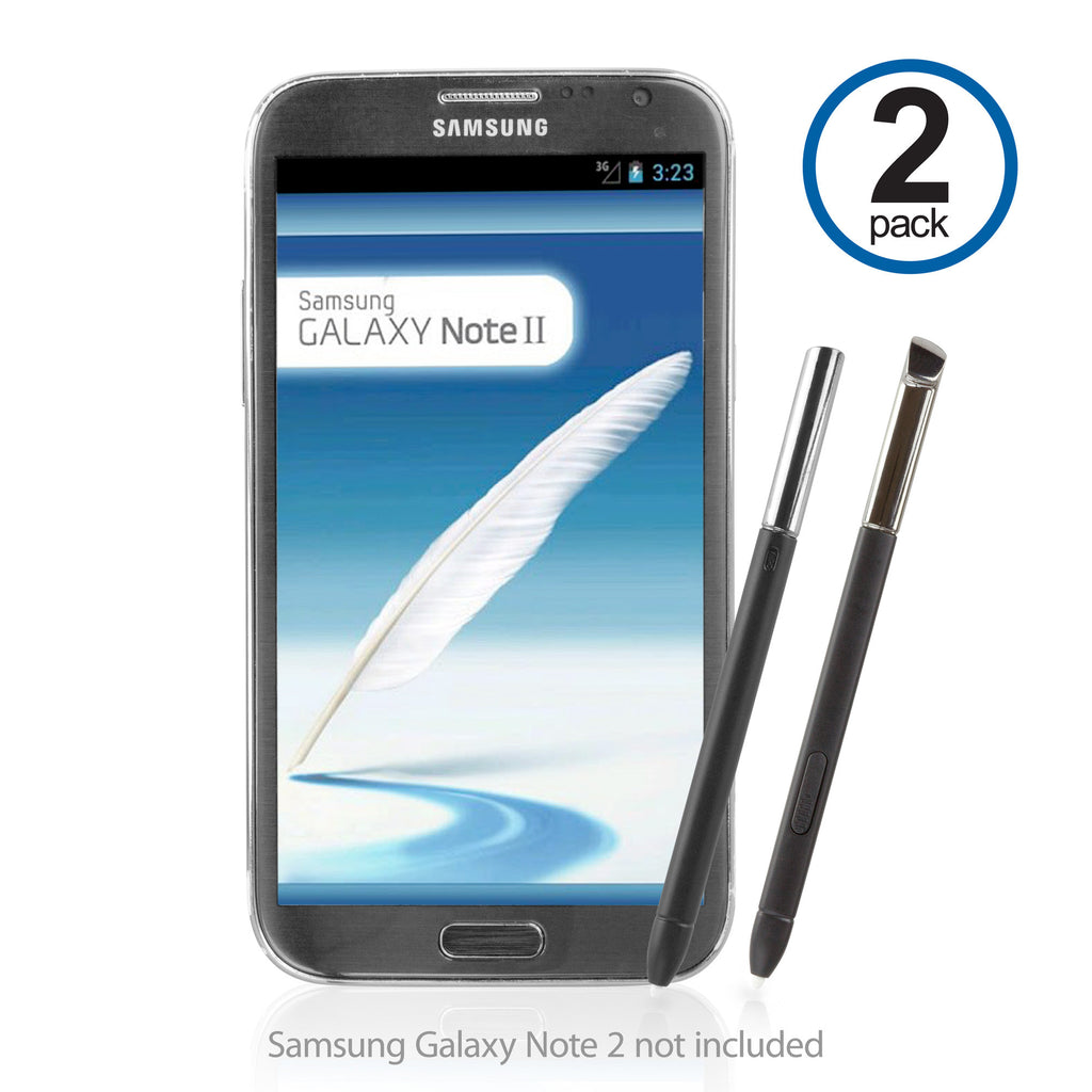Replacement S Pen (2-Pack) - Samsung Galaxy Note 2 Stylus Pen