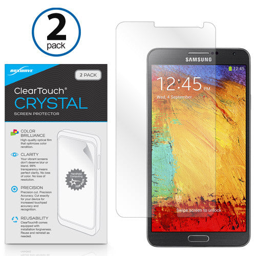 ClearTouch Crystal (2-Pack) - Samsung Galaxy Note 3 Screen Protector