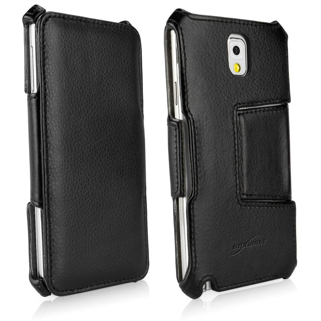 Leather Book Jacket - Samsung Galaxy Note 3 Case